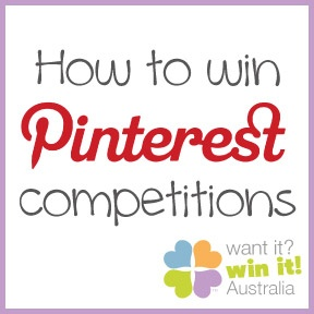 How to win Pinterest competitions