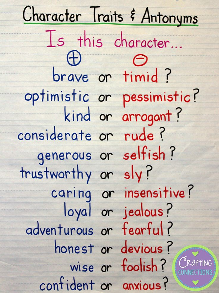 Bill Clinton definitely meant this to be true about teaching character traits to 3rd graders. He must of just left out that one important w...