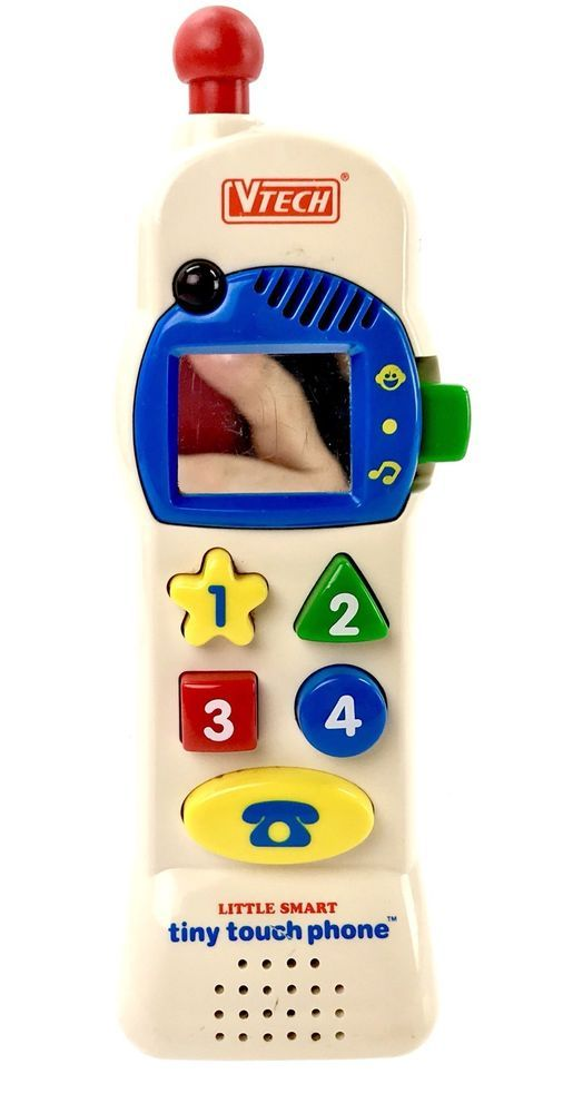 VTech Vintage Little Smart Tiny Touch Phone kids You Electronic FAST FREE POST