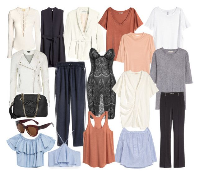 """""""SUMMER"""" by fiejust on Polyvore featuring H&M, Jakke, Topshop, Zara, Volant and Gucci"""