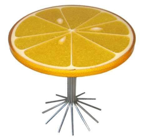 The Lemon Slice Table Is An Absolutely Amazing Piece Of Furniture Solely For Fact