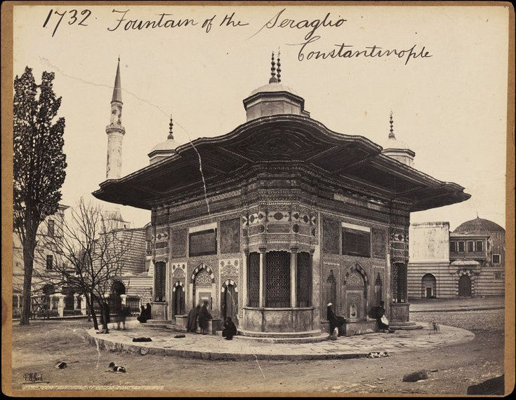 "Fountain of the Seraglio Constantinople | Francis Frith | ""Preserve, reserve, serve; the life and times of istanbul at the heart of historical center."" www.armadaistanbul.com www.armadaistanbulculture.com"