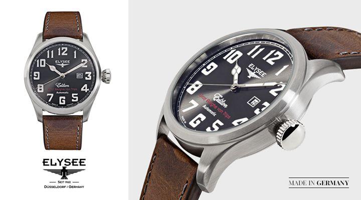 Zegarek Hemmersbach Elysse z kolekcji Graf Berghe von Trips. Sprawdź, gdzie można kupić nasze zegarki: http://bit.ly/Sklepy_Elysee