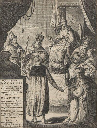 Jerzy Ossoliński u papieża Urbana VIII_1648