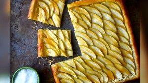 Resep Mudah Caramel Apple Tart untuk Suasana Spesial