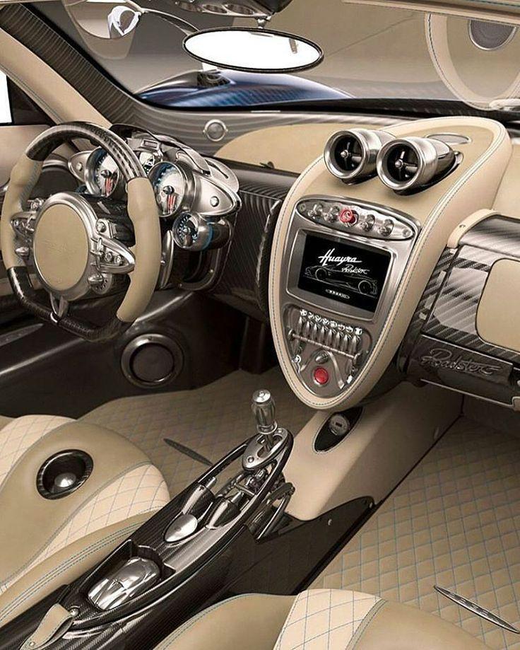 #Pagani #Huayra #Roadster Credits ©Unknown #car #interior #carinterior #luxury #design