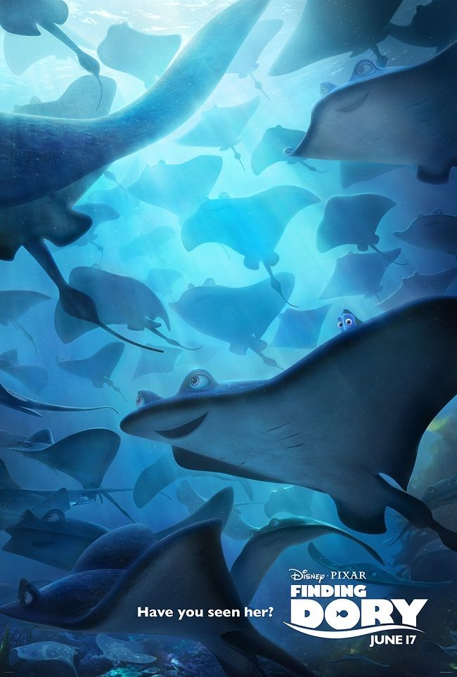 Finding Dory Movie Posters + Trailer