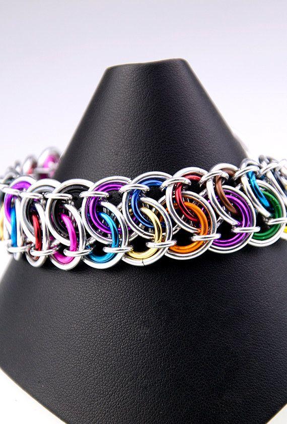 Chainmaille Tutorial Garter Weave Bracelet door AussieMaille