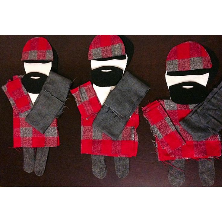Good morning!! These guys have an adorable future ahead of them! #cuttingfabric #paulbunyan #sewing #earlybird
