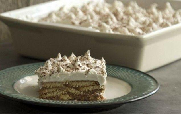Γλυκό ψυγείου με μπισκότα του Άκη Πετρετζίκη - iCookGreek