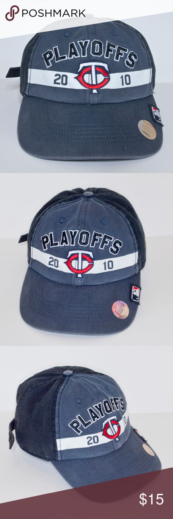Minnesota Twins 2010 Playoff Baseball Cap in 2020