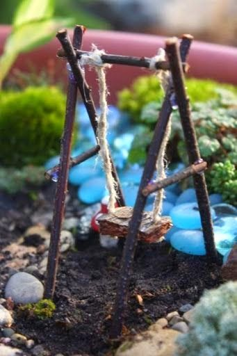 Fairy Garden, Expand and Furnish- lots of furniture