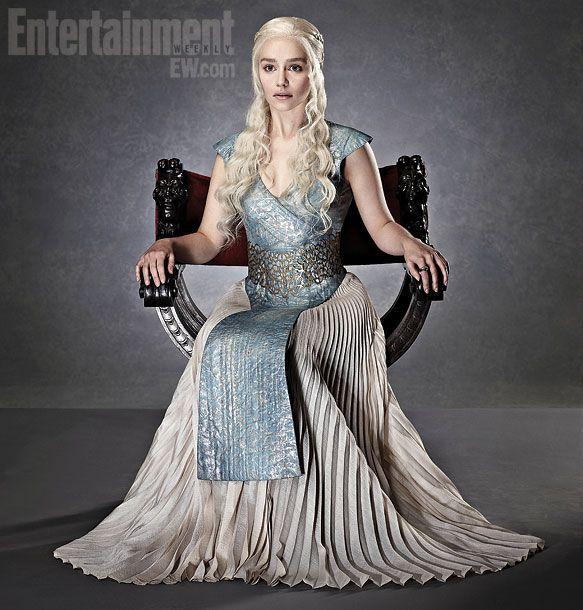 game of Thrones | Emilia Clarke, Game of Thrones | 'Game of Thrones': More EW Portraits ...