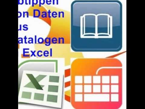 Adressen von diversen Vorlagen abtippen und in einer Excel Tabelle speichern. Vorlagen können sein: Kataloge und Branchenbücher