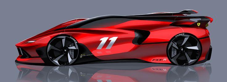 Ferrari Sketch on Behance
