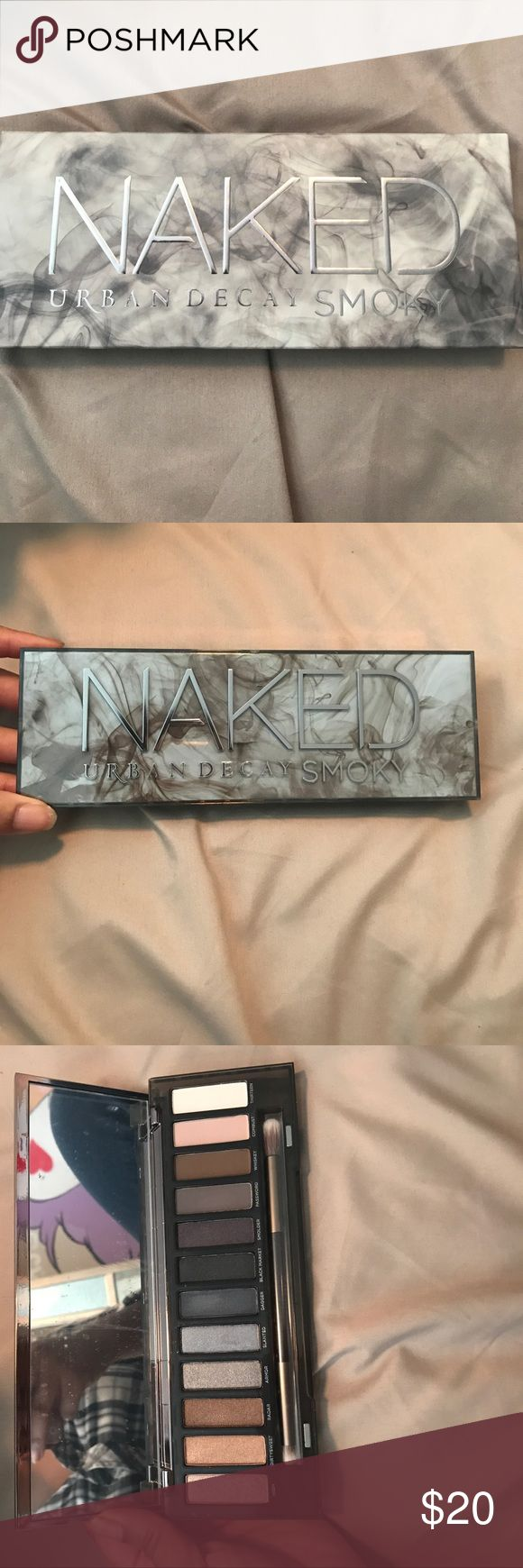 URBAN DECAY - Naked Smoky eyeshadow palette - NEW Brand new never used Urban Decay Naked Smoky eyeshadow palette. Film still on mirror. Shadow never swatched. Authentic Urban Decay Makeup Eyeshadow