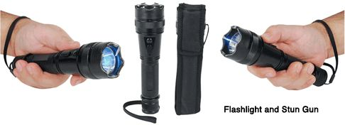 """Flashlight Stun Gun """"SHORTY"""" With 15 Million Volts Of Self Defense Power Made With Aircraft Grade Aluminum  Flashlight Stun Gun """"SHORTY"""" With 15 Million Volts Of Self Defense is made with Aircraft Grade Aluminum, 120 lumen flashlight, wrist strap lanyard, can be used as a baton. Blog: http://womenonguard.blogspot.com/2015/10/flashlight-stun-gun-shorty-with-15.html Store: http://www.womenonguard.com/flashlight-stun-gun-shorty   self defense,women,stun gun,flashlight,15 million volts,"""