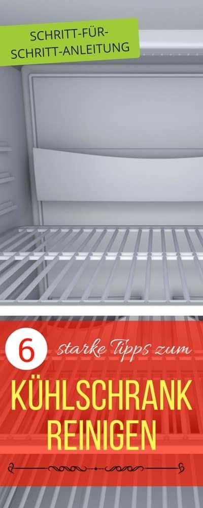 Kühlschrank Reinigen Beste Tipps
