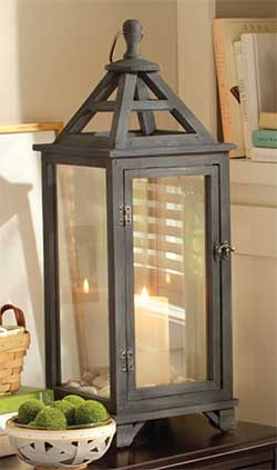 Love the Large Washed Grey Lantern.  Think I will get a another before they retire in August