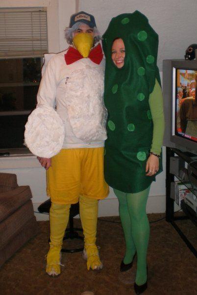 Vlasic costume - Vlasic stork and dill pickle