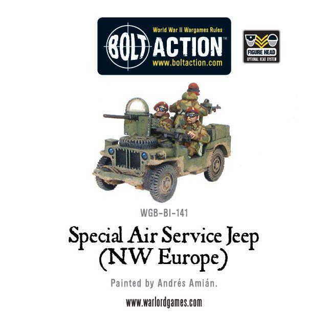 SAS (NWE) Jeep