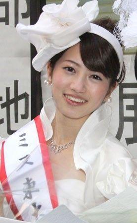 #ミス東大 2014グランプリに輝きました前期教養学部文科三類1年の藤澤季美歌さん、おめでとうございました!