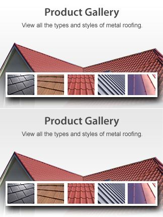 Today's residential metal roofing is made to look exactly like common roofing material - such as asphalt shingle, cedar shake, clay tile or slate roofing - only stronger and more durable. There's certain to be a style and finish to match your home and neighborhood.