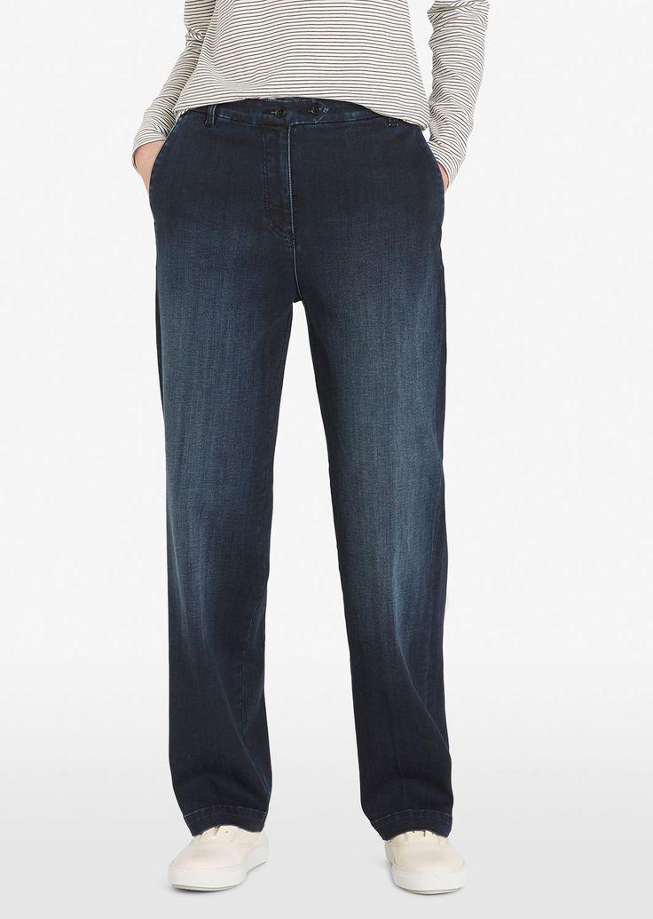 MARC O'POLO, Damen, Bekleidung, Jeans, Jeans, aus Candiani-Denim