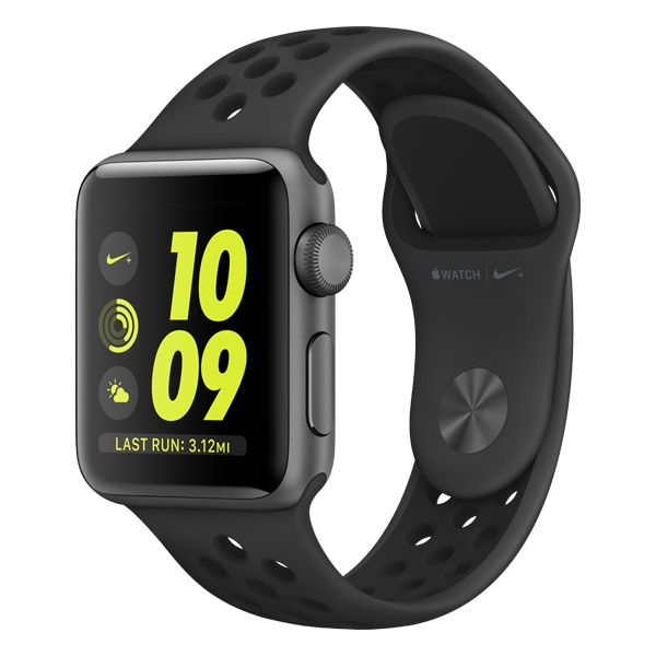 Apple Watch Nike+ ❤ liked on Polyvore featuring jewelry, watches, nike wrist watch, nike jewelry, nike and nike watches