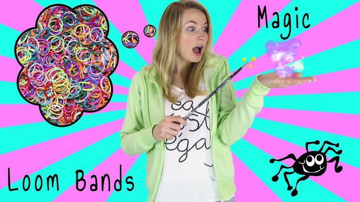 How To Loom Bands Magic Tricks Diy 6 Magic Tricks With