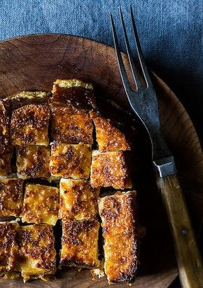 DARJEELING TEA PAIN PERDU with CONDENSED MILK BUTTER [Aliwaks] [food52]