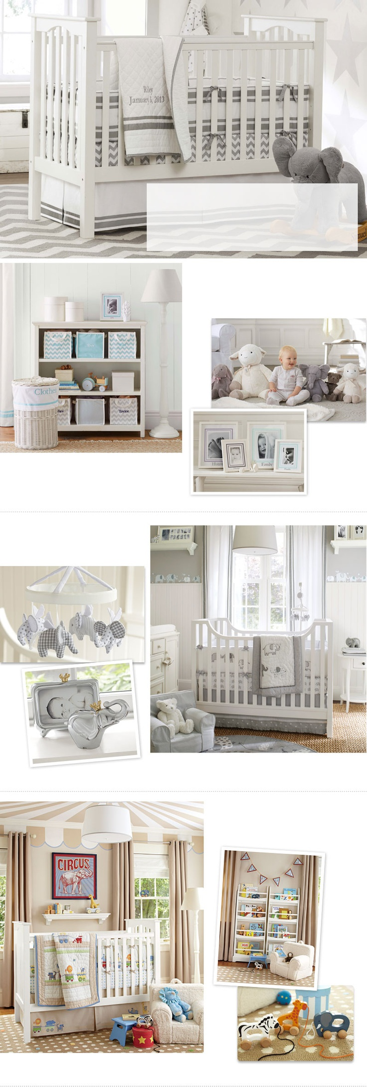 Redo The Nursery? Love The Chevron Stripe Sheets And The Grey And White