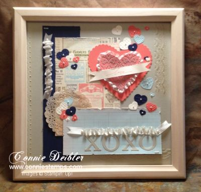 Stampin' Up! By Connie D: Lovey Dovey January Sample