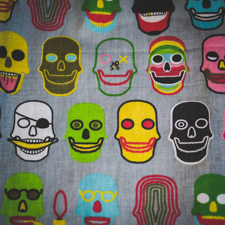 Samba Canção Old Skulls - UFA! Comfort Wear: Cuecas Samba Canção