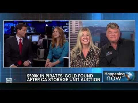 Real Treasure Found in Storage Auction Dan & Laura Dotson American Auctioneers on Fox News - YouTube