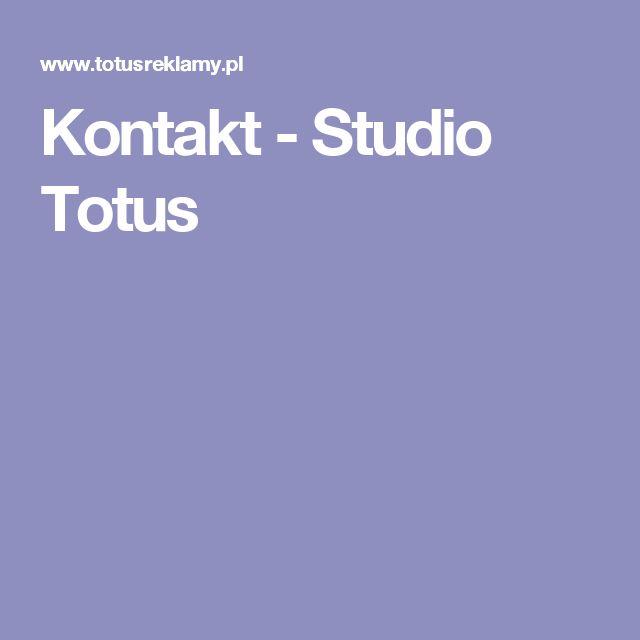 Kontakt - Studio Totus