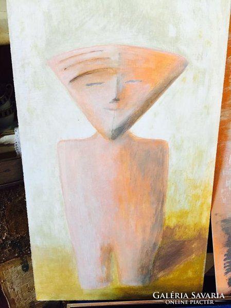 Ancien Man - múltidéző kortárs festmény a művésztől