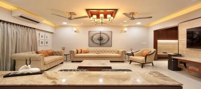 3bhk Lodha World One Rent Lower Parel Mumbai Flat Interior Living Room Lighting Hall Interior
