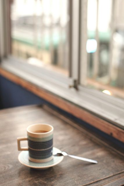 coffeenotes: café au lait by hisaunun on Flickr.
