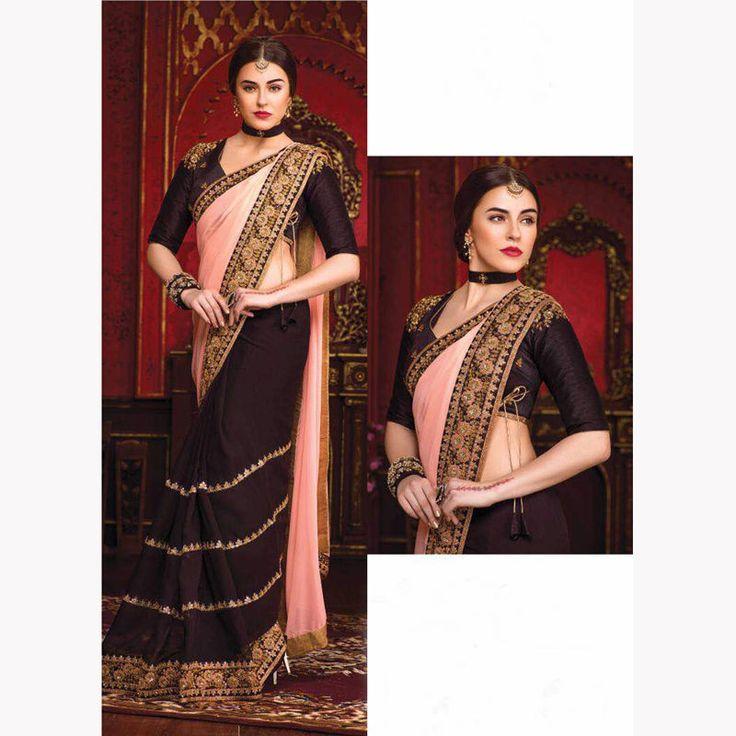 wedding party wear indian pakistani bollywood asian designer new saree blouse uk