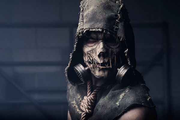 The Scariest Batman Arkham Knight Scarecrow [Cosplay]