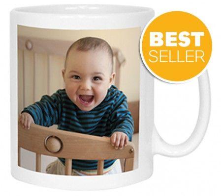Personalised Photo Mug with Message