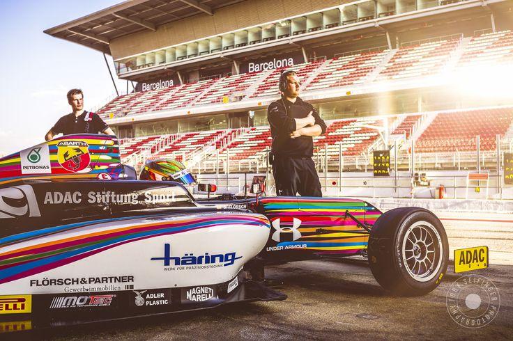 Formula4 Training in Barcelona - Racing-Pilot: Sophia Flörsch