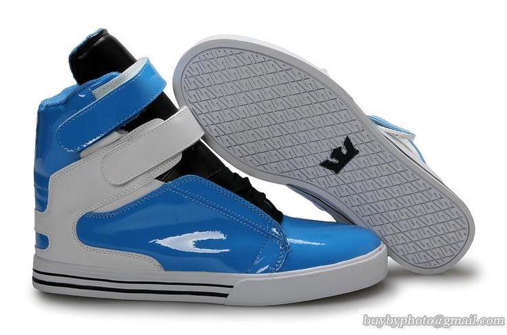 Men Supra Shoes TK Society Blue Black White
