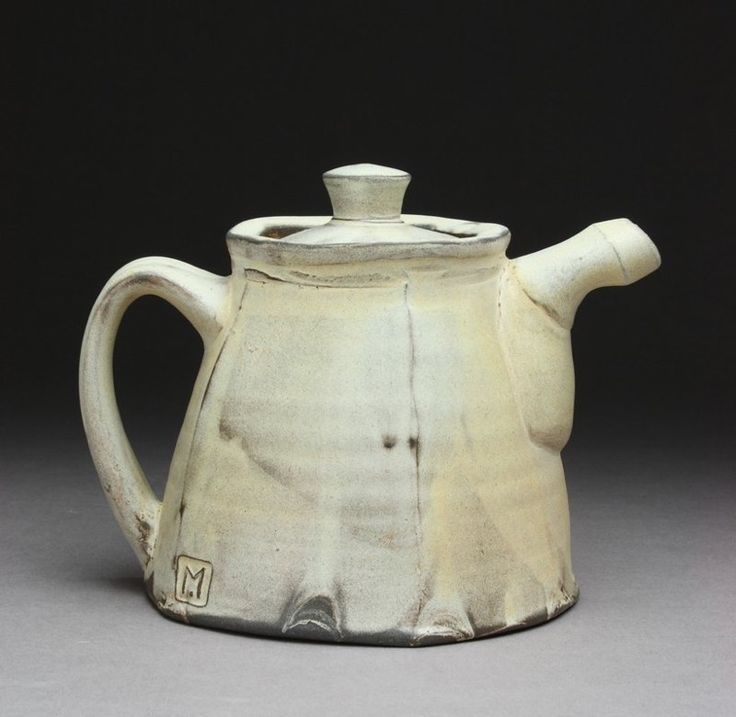 Teapot, fired in a soda kiln to cone 3. Matt Kelleher was featured in the May 2015 issue of Ceramics Monthly. http://ceramicartsdaily.org/ceramics-monthly/ceramics-monthly-may-2015/