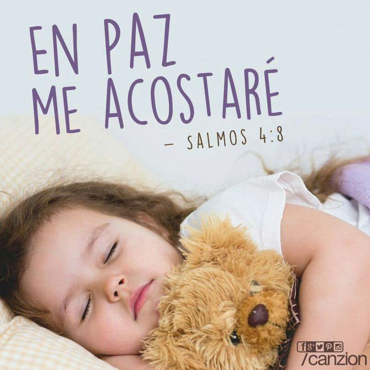 341 best images about salmos on pinterest fortaleza god for En paz me acostare
