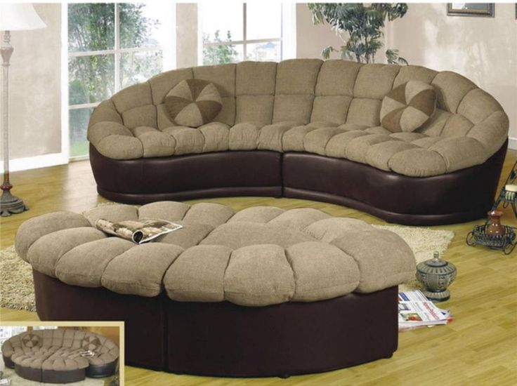 11 best reclining sofas that are pretty not ugly images for Papasan two piece sectional sofa