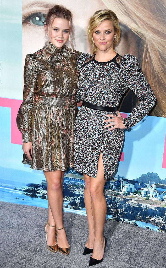 Ava Phillippe & Reese Witherspoon from Kids as Red Carpet Plus-Ones Double take! The gorgeous mother-daughter duo was spotted at the premiere of HBO's Big Little Lies in Hollywood.
