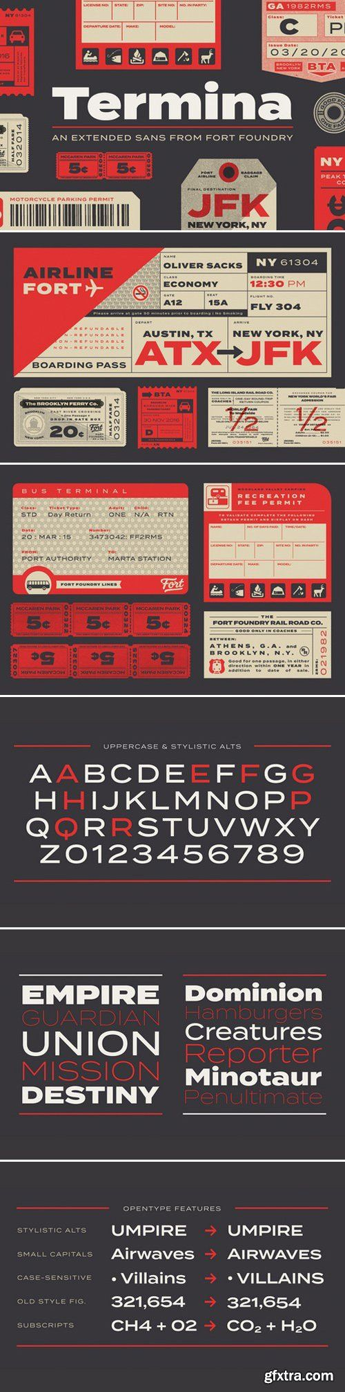 CM - Termina Sans Serif Fonts 404825