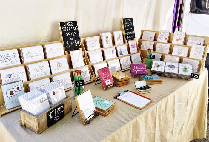 Great Greeting Card Display for Craft Fairs - Julie Ann Art
